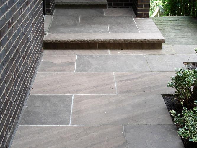 Brown Wave Quality Patio Stone Masonry By Hessel