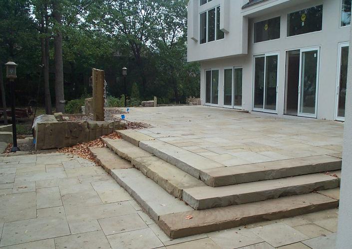 Hessel Stone Fabrication - Cleveland Sandstone - Patio stone photo ...